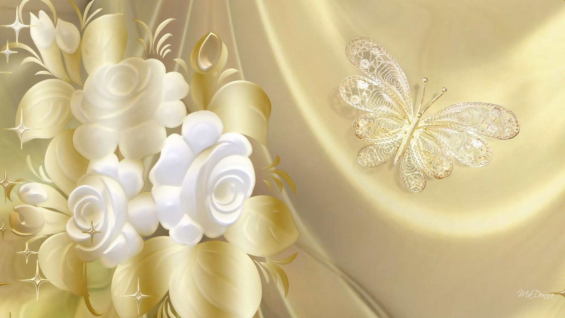 White And Gold HD Download