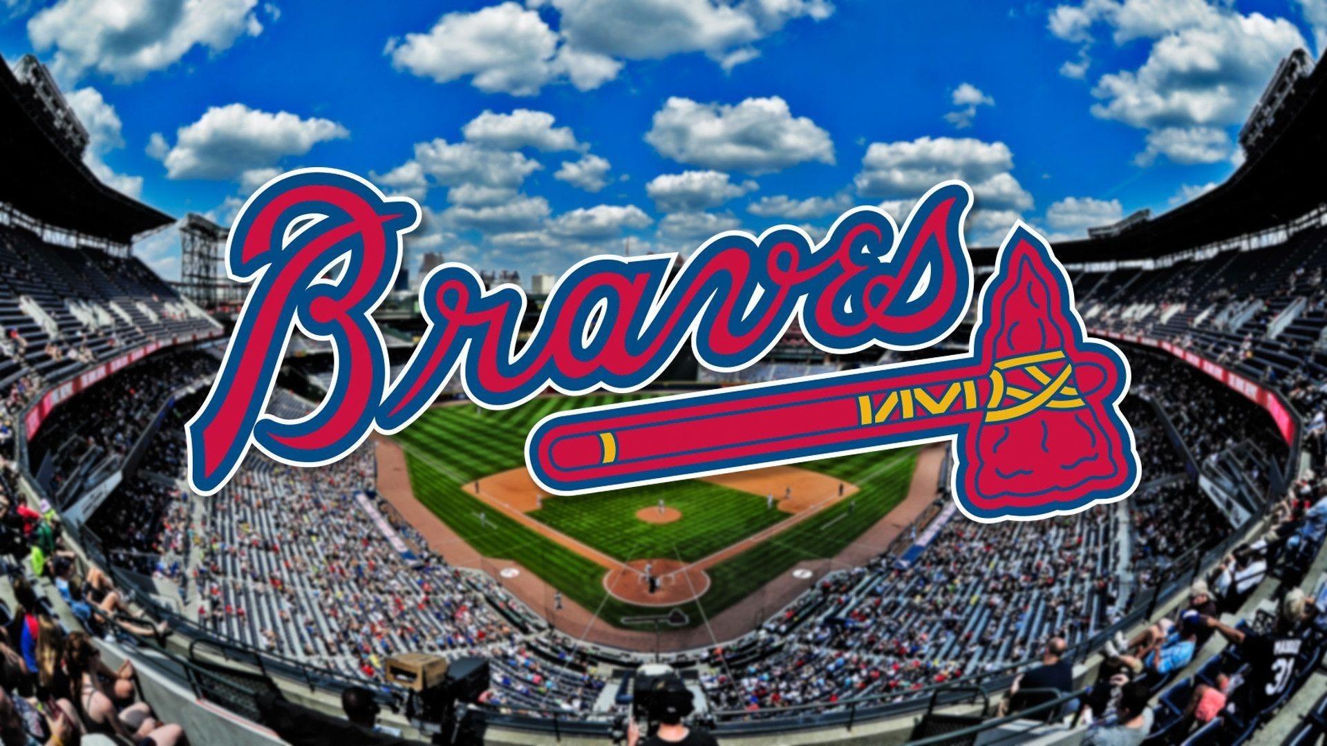 Atlanta Braves Background Wallpaper