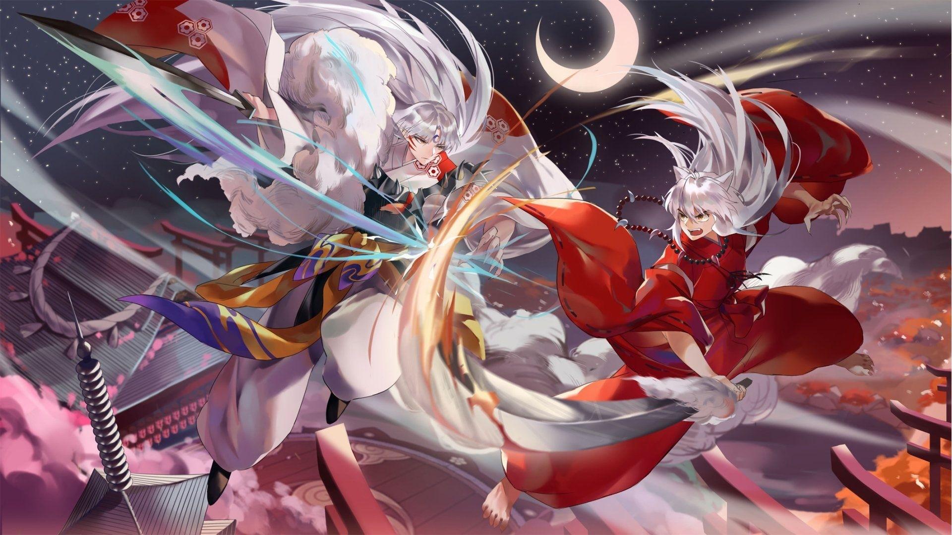 Inuyasha hd desktop wallpaper