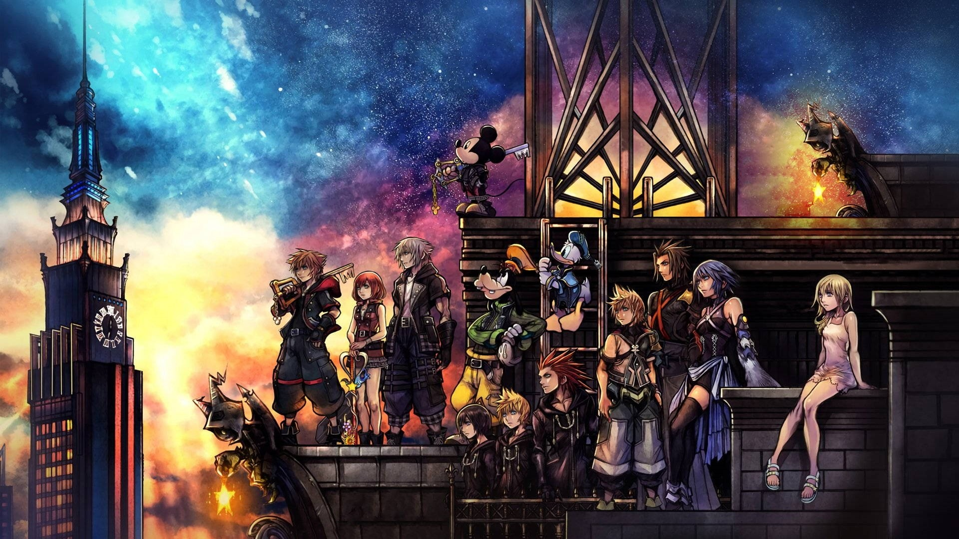 Kingdom Hearts 3 Free Wallpaper