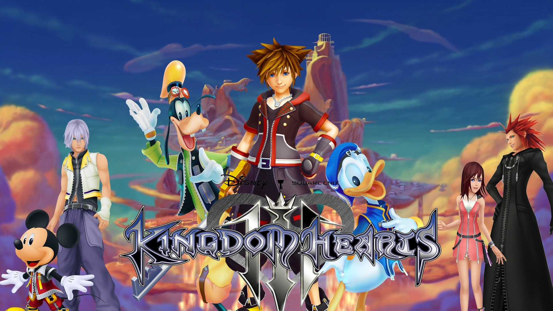 Kingdom Hearts 3 Free Wallpaper and Background