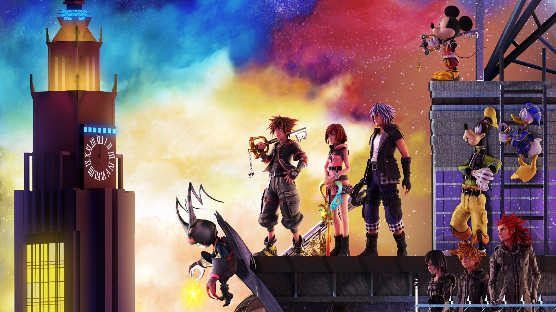 Kingdom Hearts 3 Wallpaper image hd