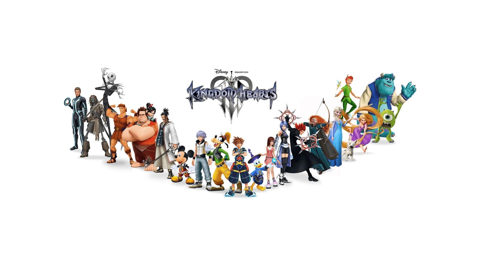 Kingdom Hearts 3 Wallpaper for pc