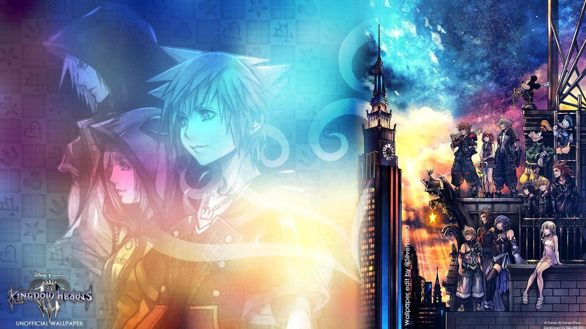 Kingdom Hearts 3 Full HD Wallpaper