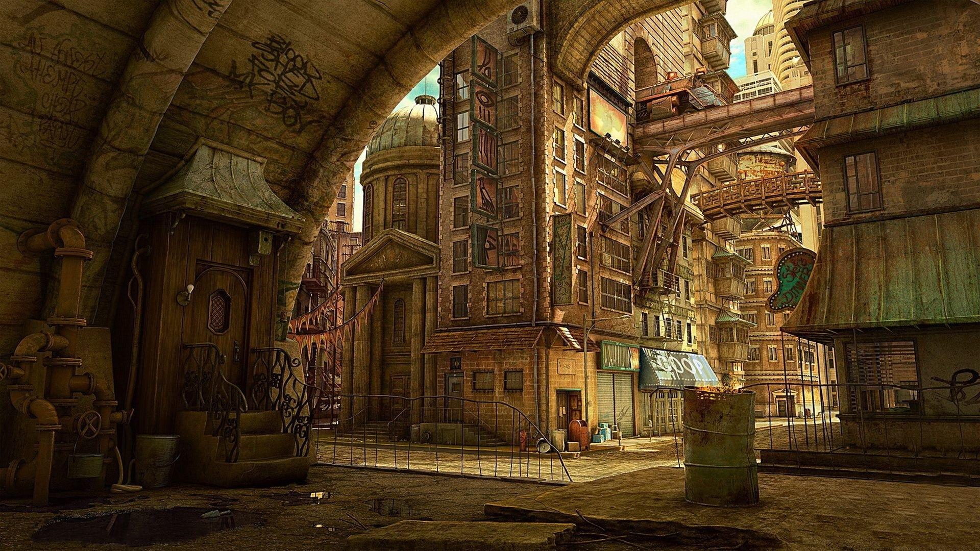 Steampunk wallpaper photo hd