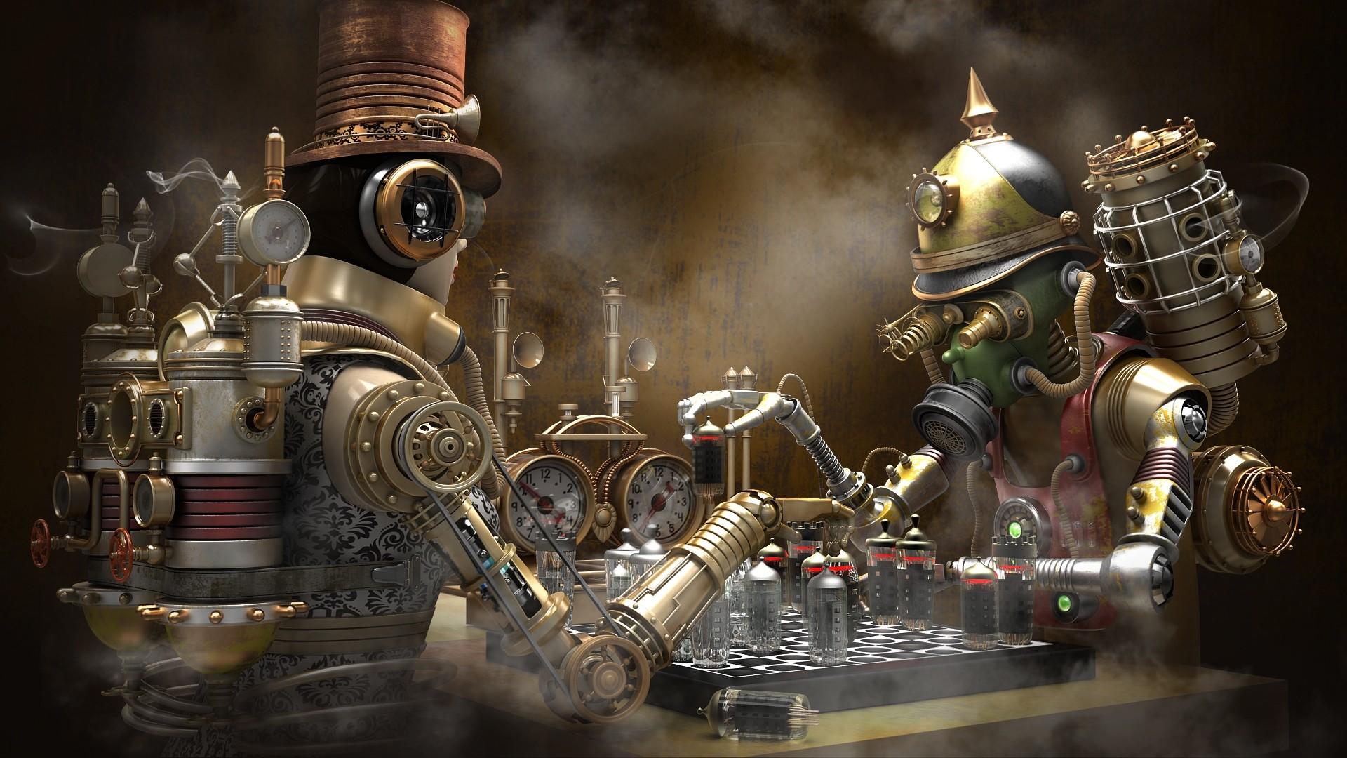 Steampunk Wallpaper image hd