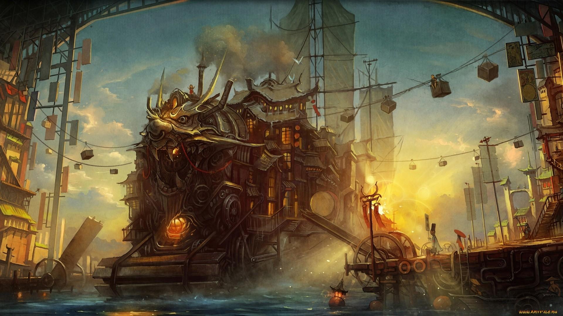 Steampunk HD Download