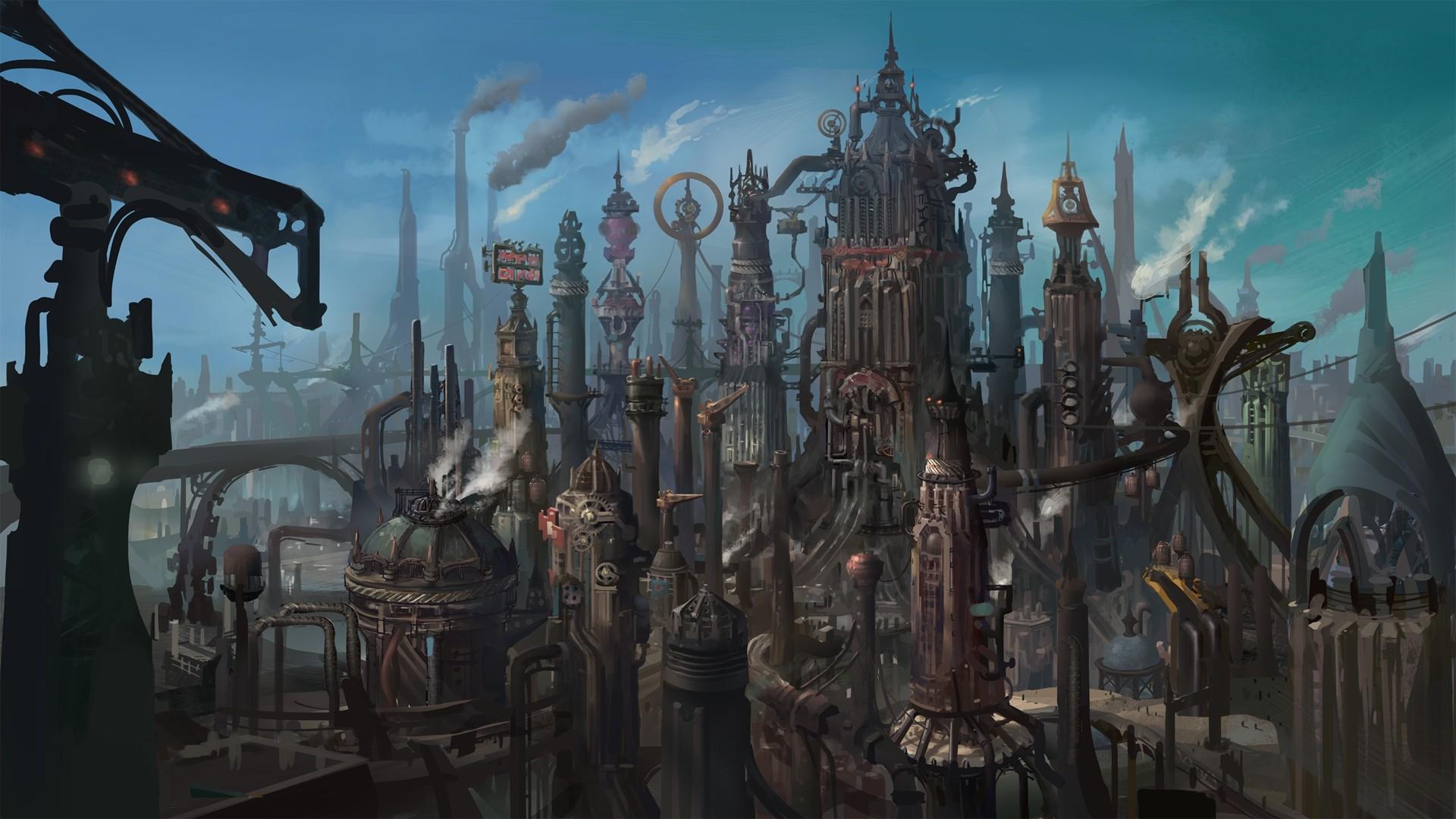 Steampunk PC Wallpaper HD