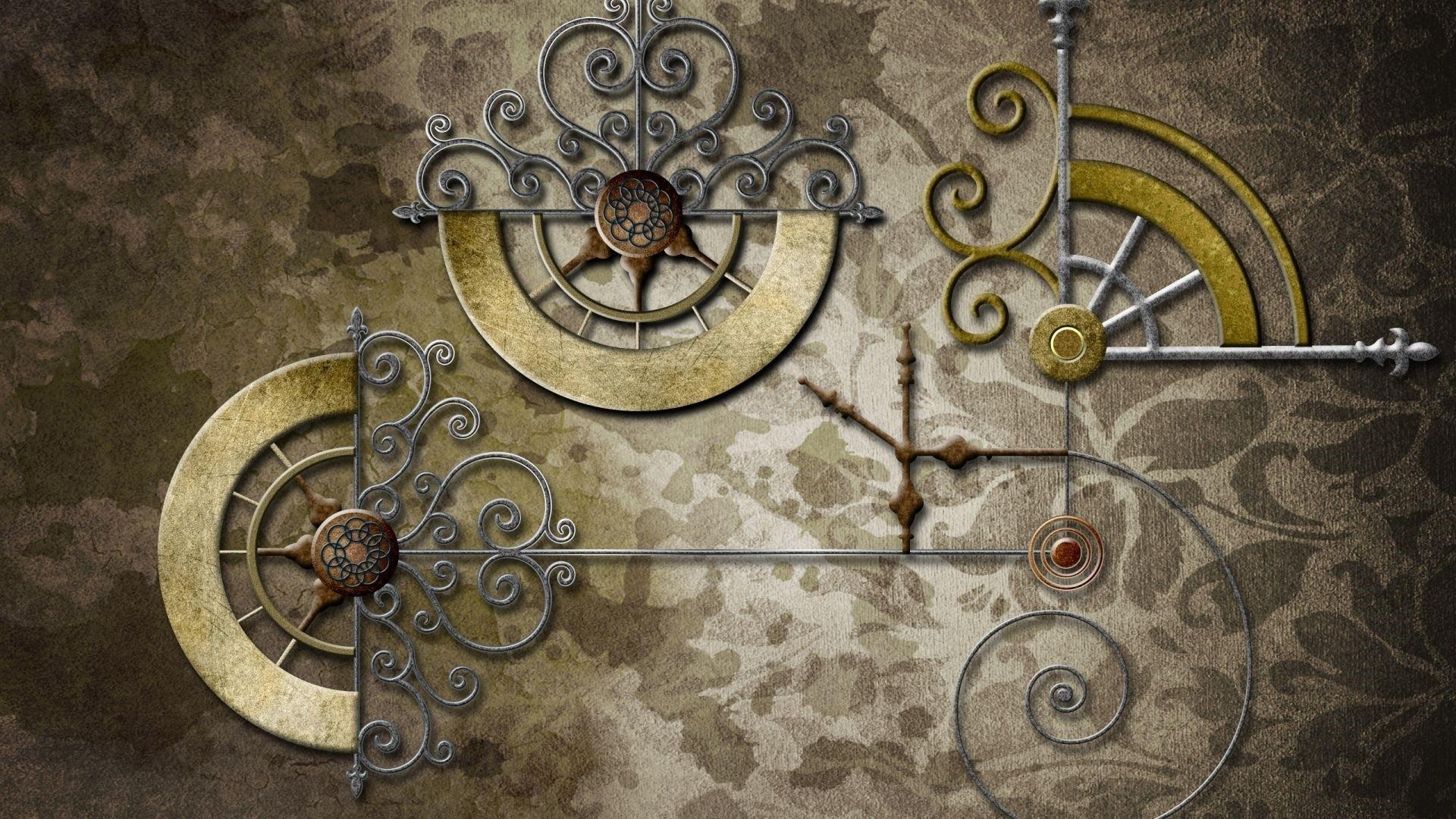 Steampunk Background Wallpaper