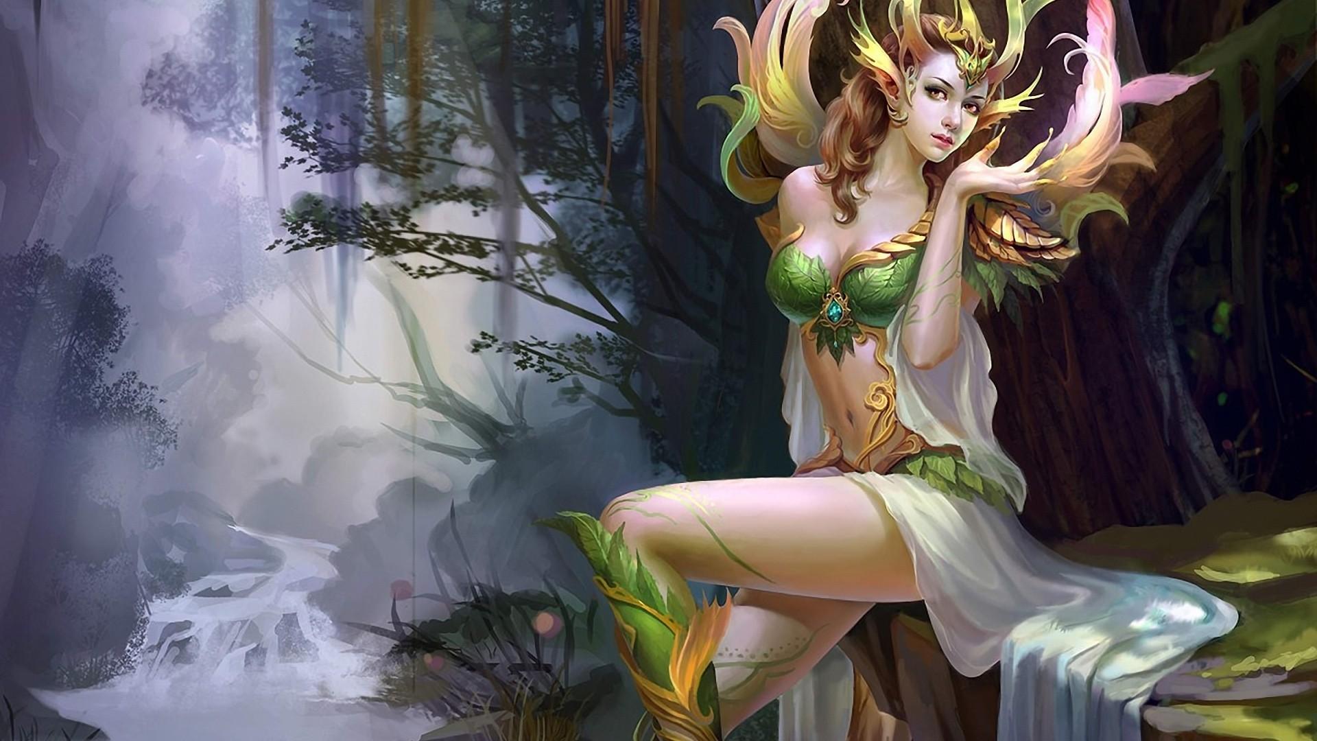 Fairy a wallpaper
