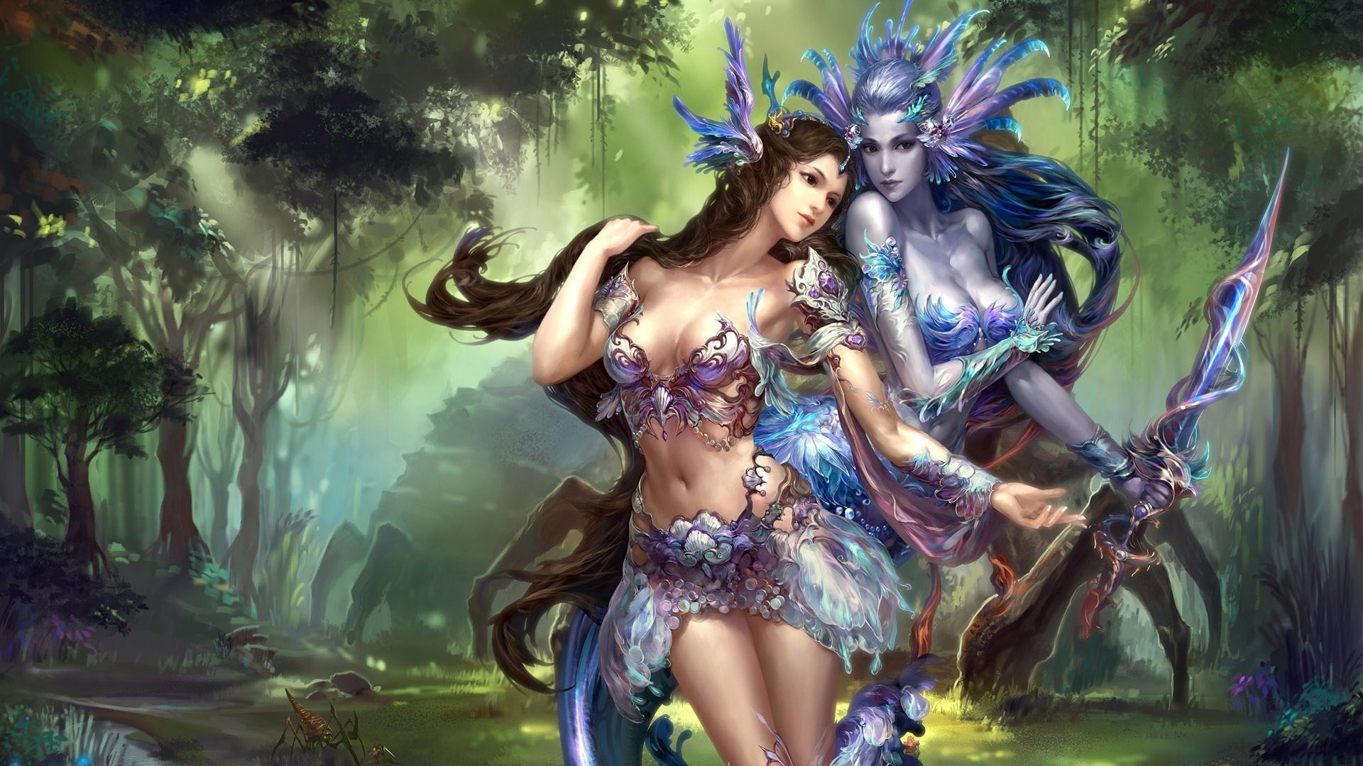 Fairy Background Wallpaper