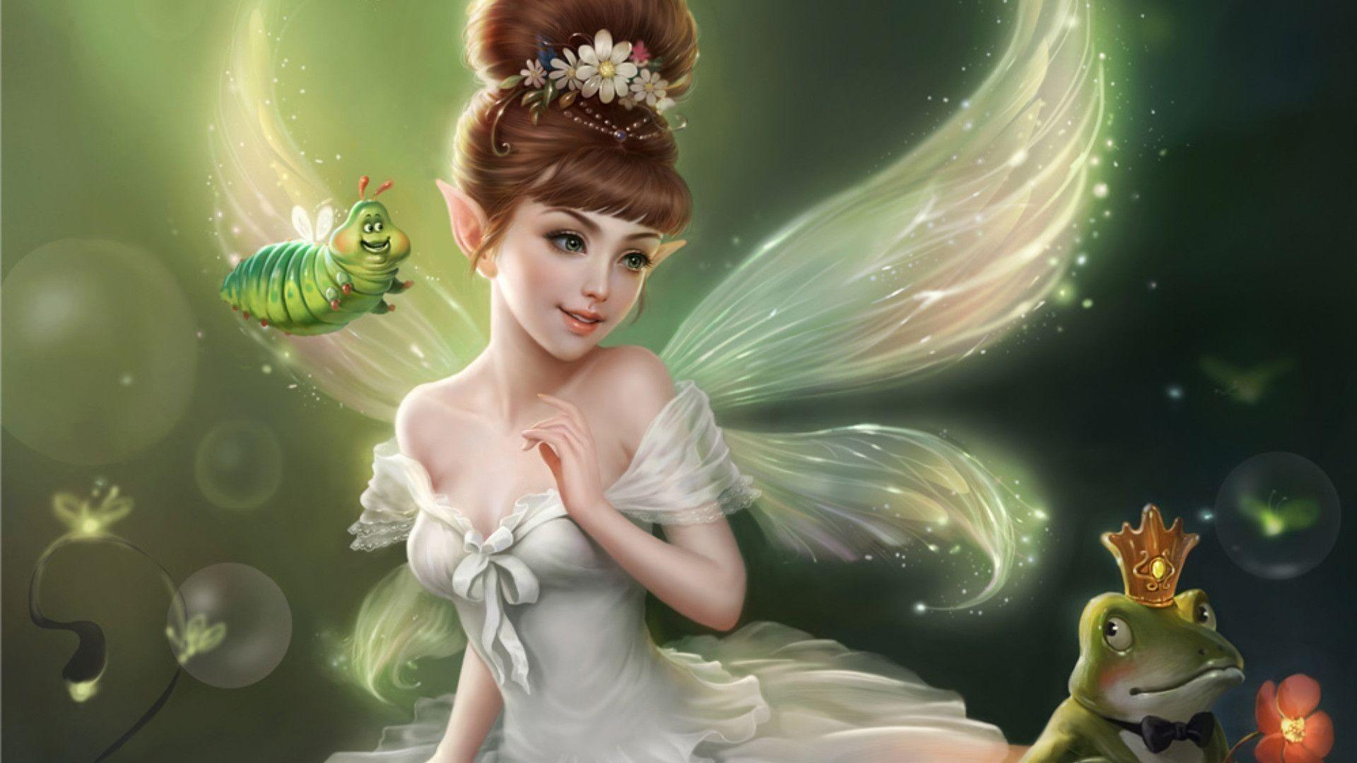 Fairy hd desktop wallpaper