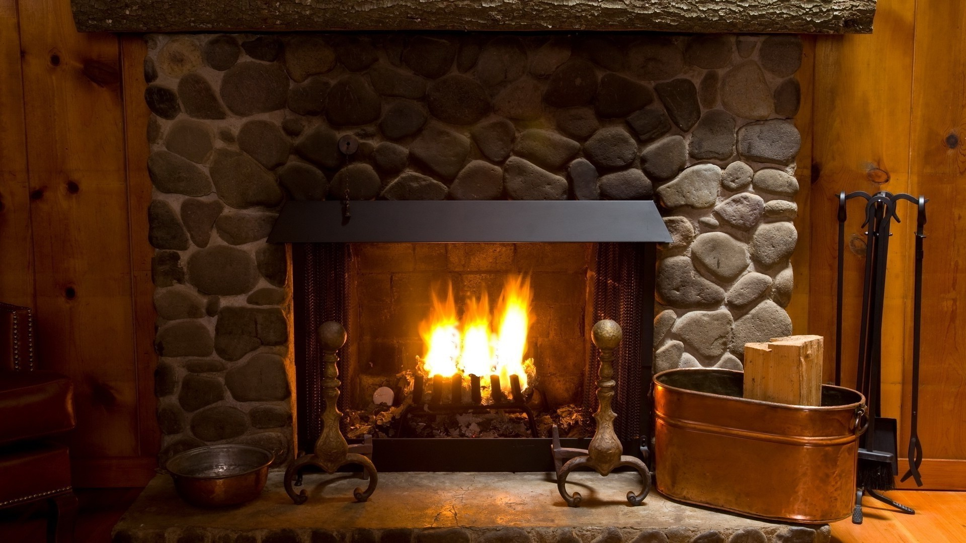 Fireplace Download Wallpaper