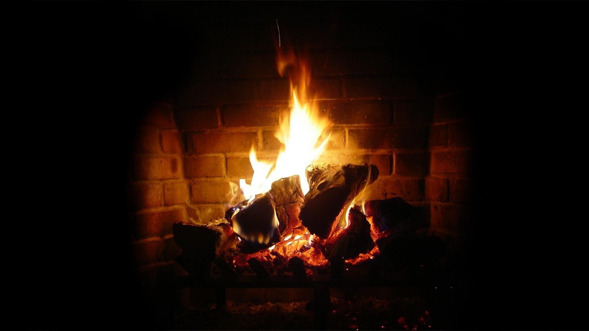 Fireplace Wallpaper image hd
