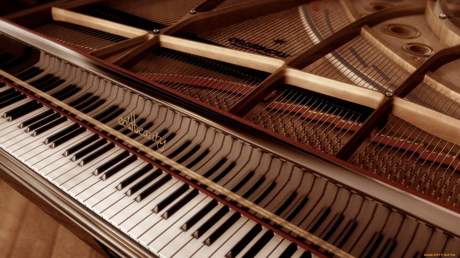 Piano computer wallpaper