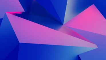Pink And Blue HD Wallpaper