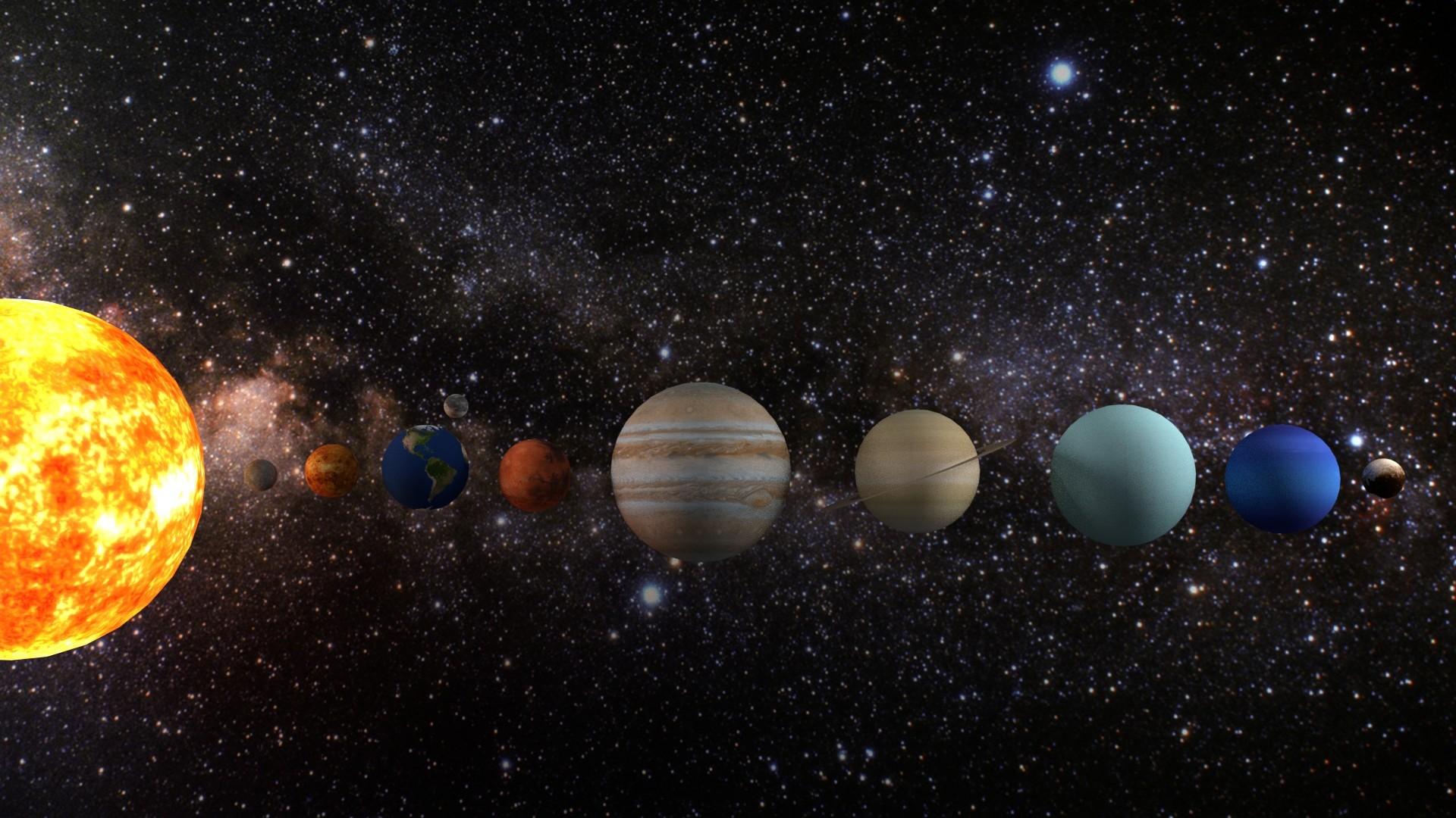 Solar System High Quality
