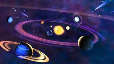 Solar System Wallpaper theme
