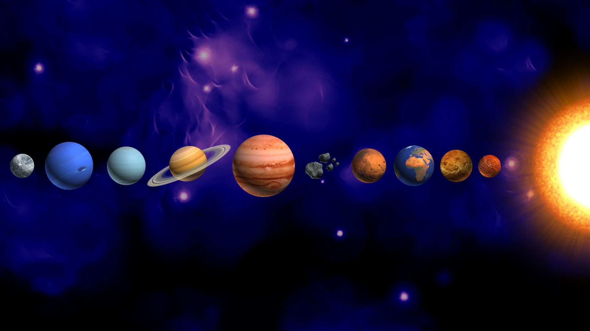 Solar System Wallpaper and Background
