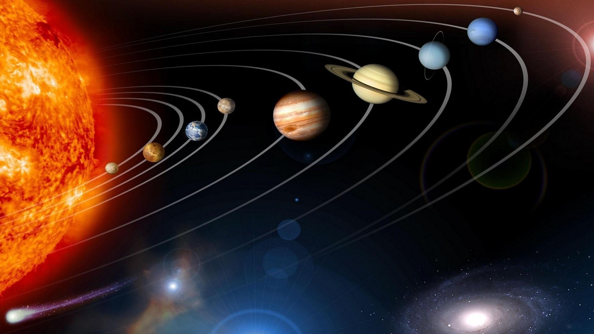 Solar System hd desktop wallpaper