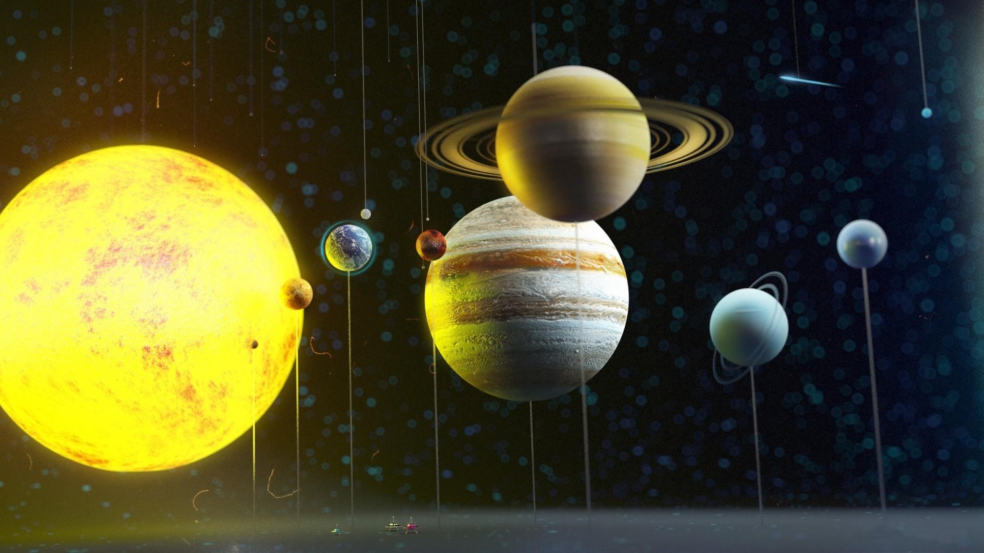 Solar System Download Wallpaper