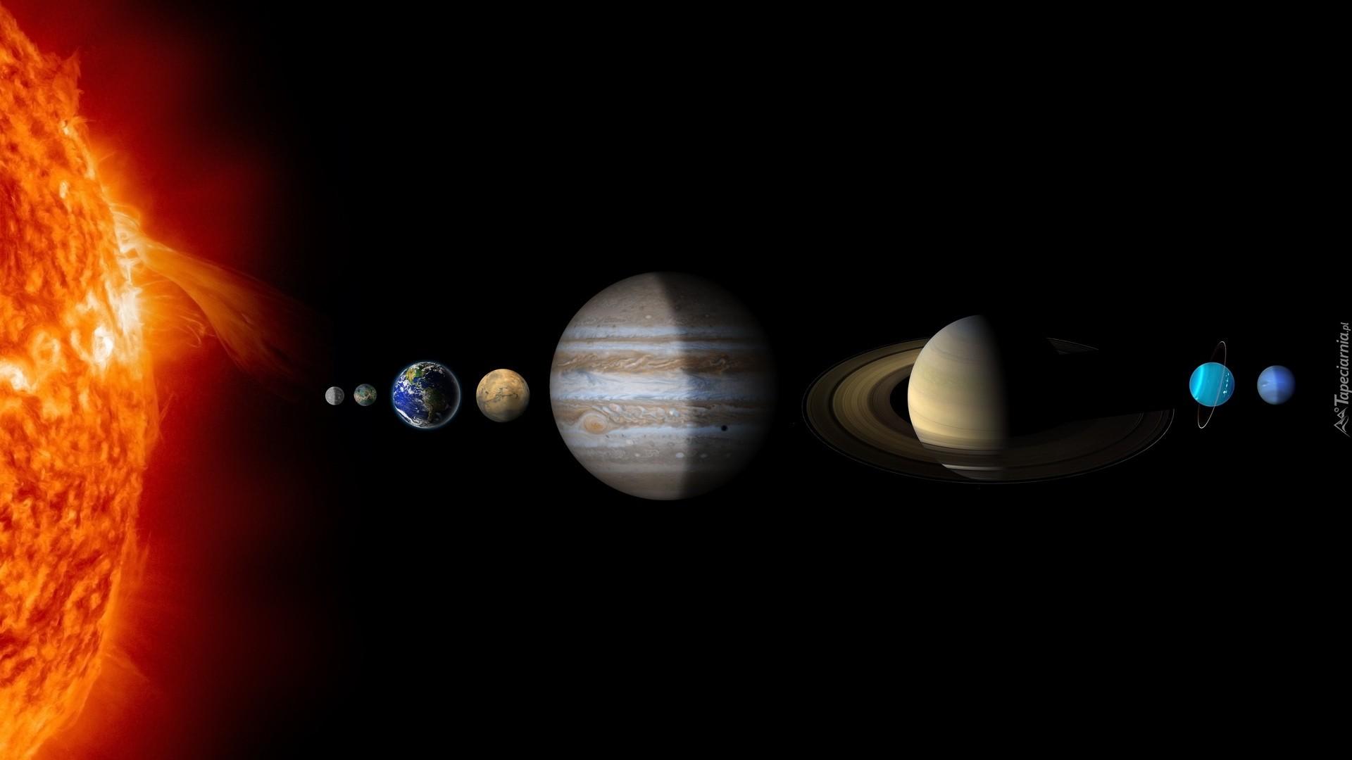 Solar System Desktop Wallpaper