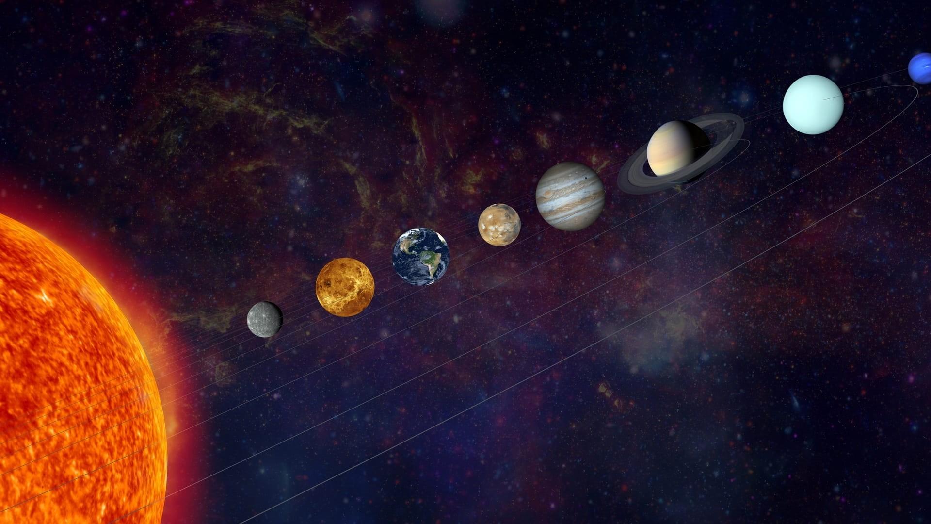 Solar System HD Wallpaper