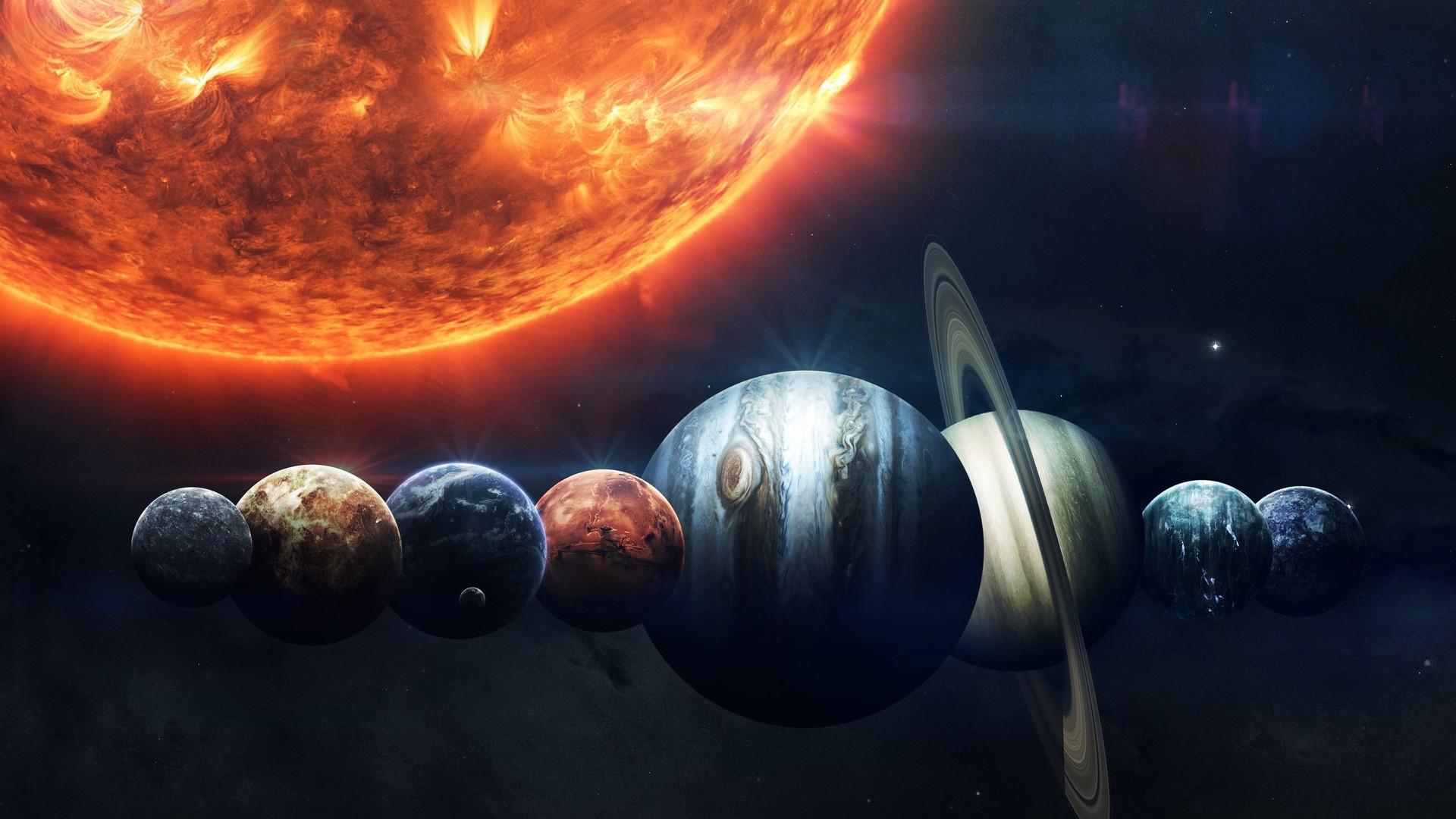 Solar System PC Wallpaper HD
