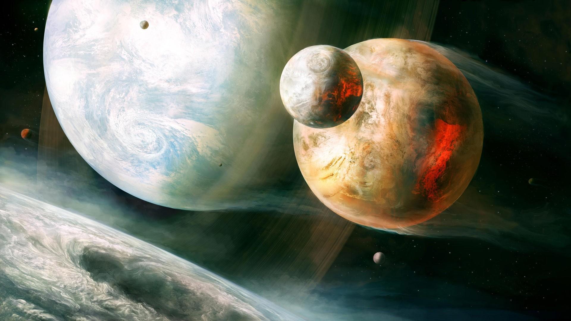 Solar System a wallpaper