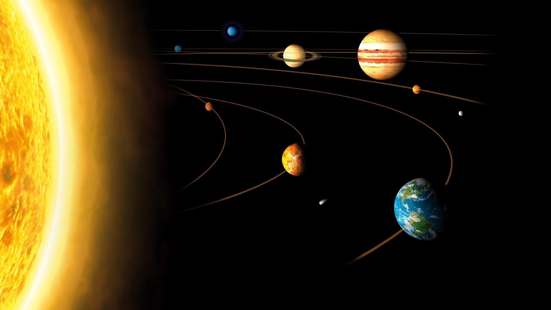 Solar System PC Wallpaper