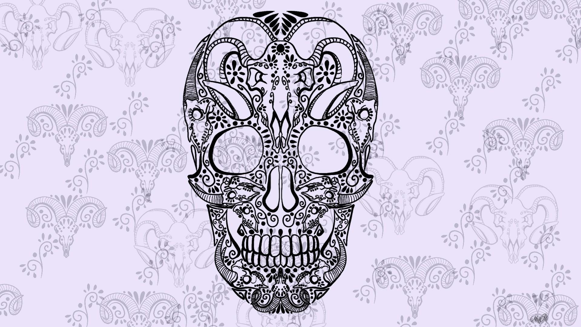 Sugar Skull wallpaper photo hd