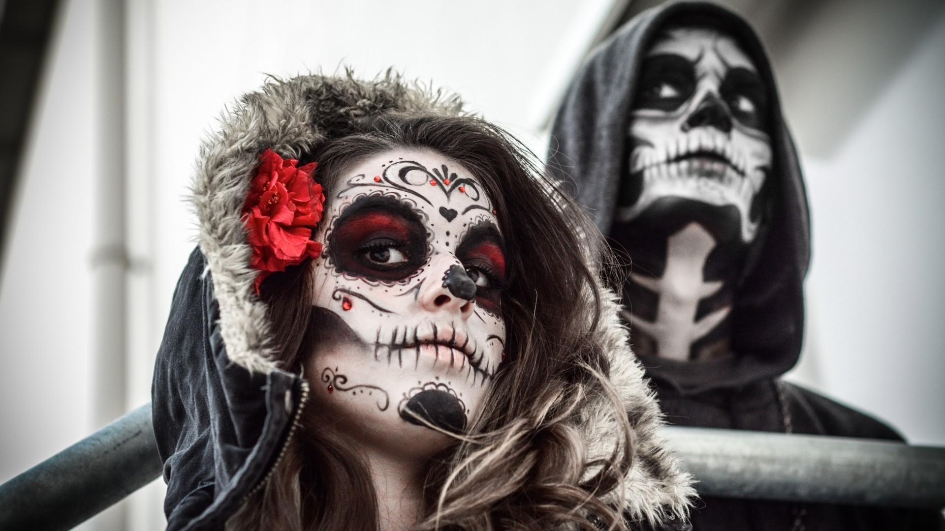 Sugar Skull Background