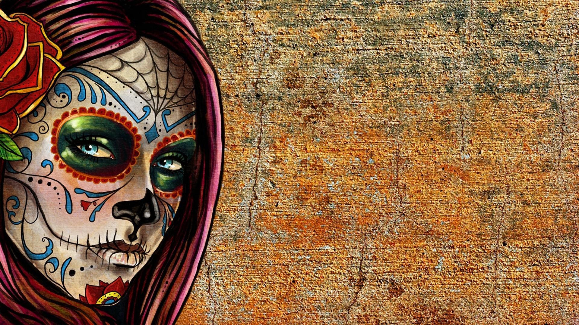Sugar Skull a wallpaper