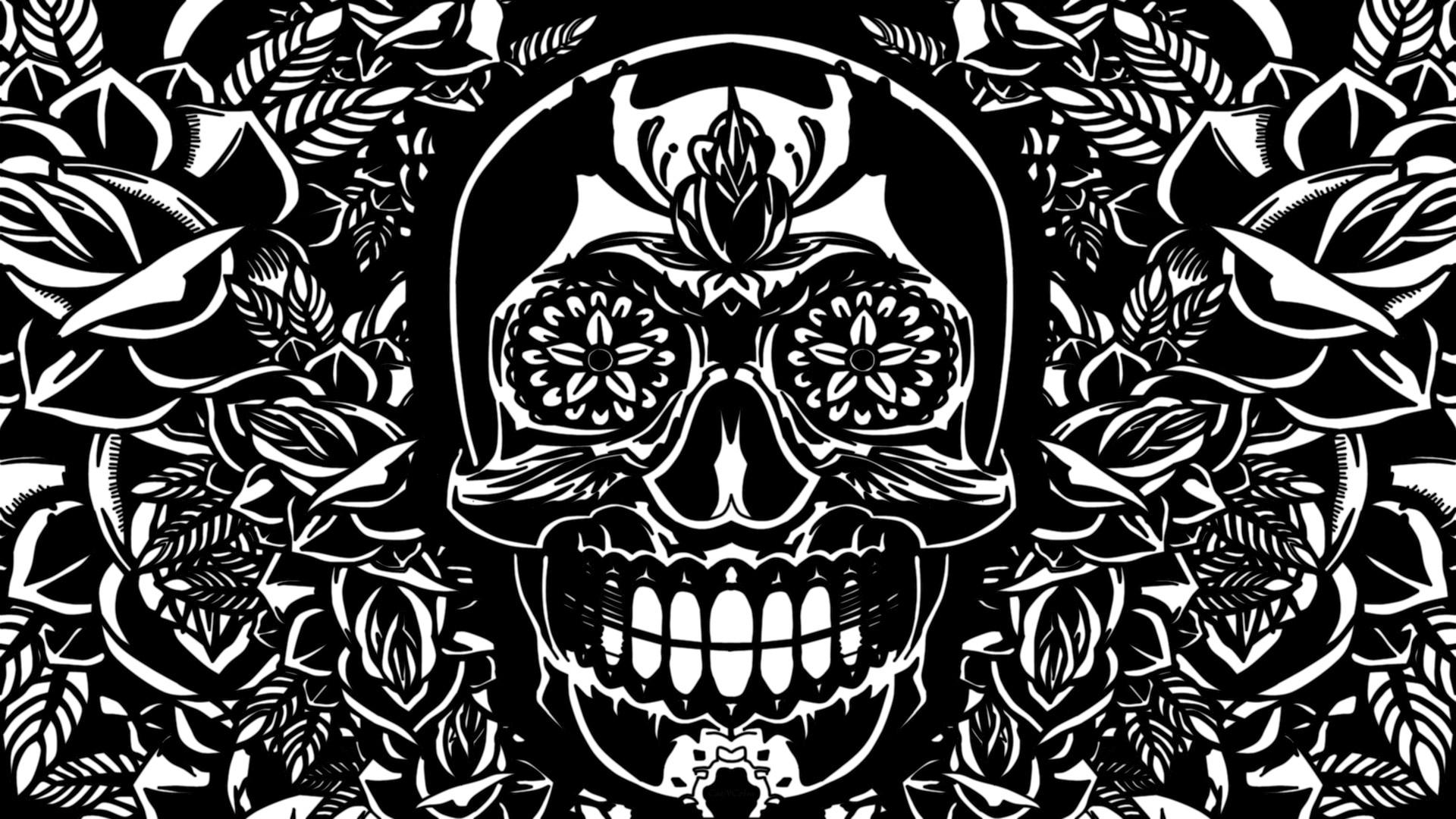 Sugar Skull PC Wallpaper HD