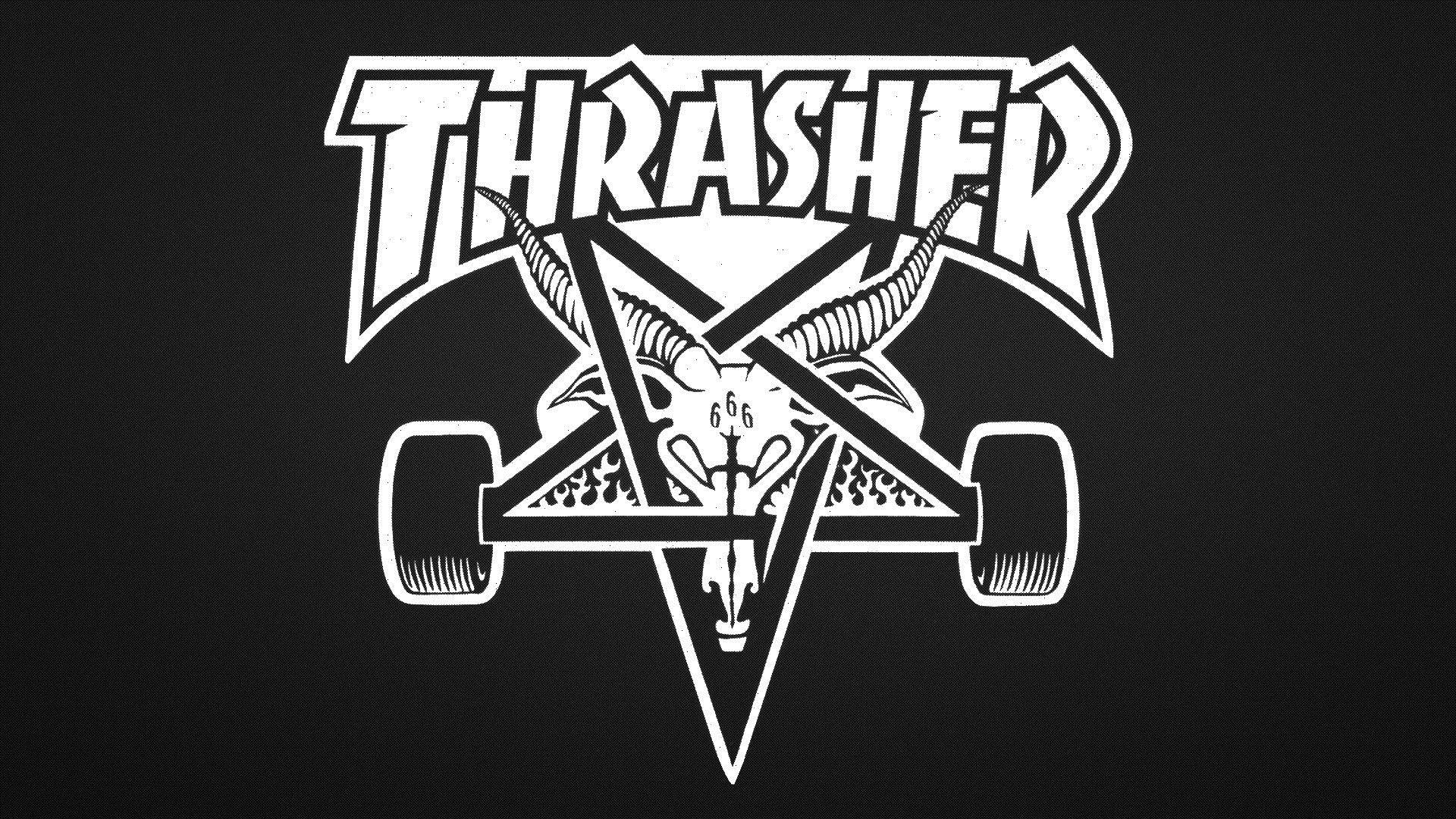Thrasher a wallpaper