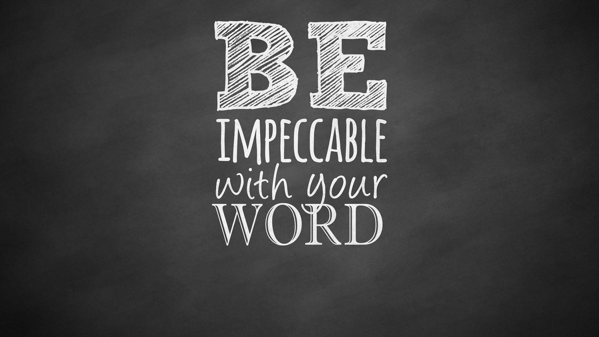 With Words Desktop Wallpaper