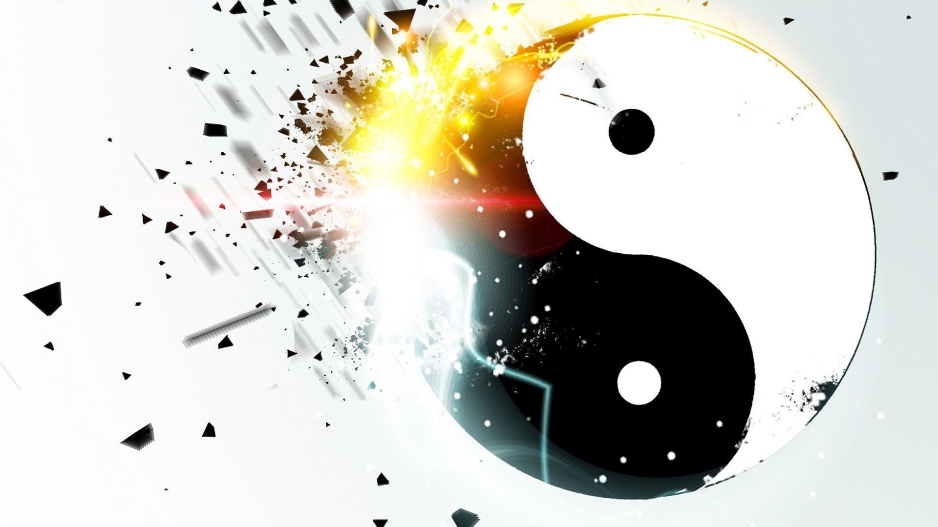 Yin Yang Background