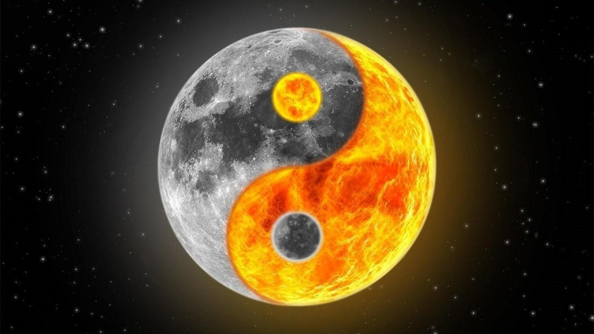 Yin Yang Wallpaper image hd