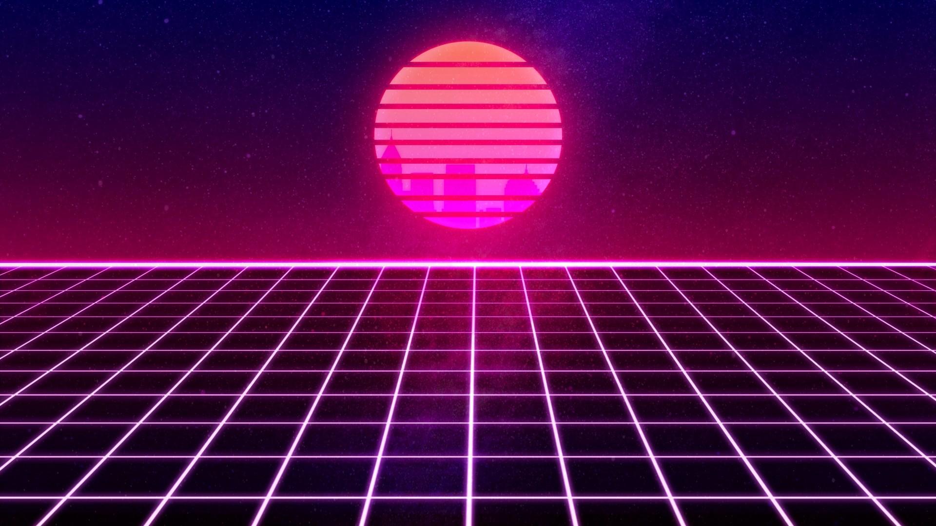Aesthetic Retro computer wallpaper