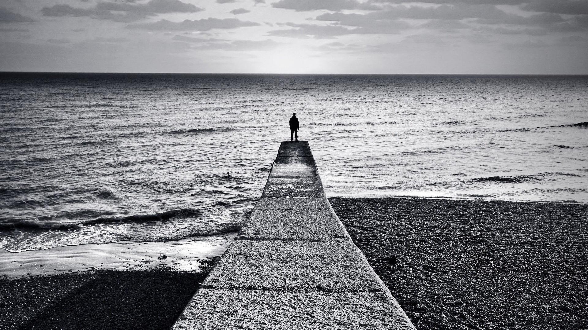 Alone Sad Background