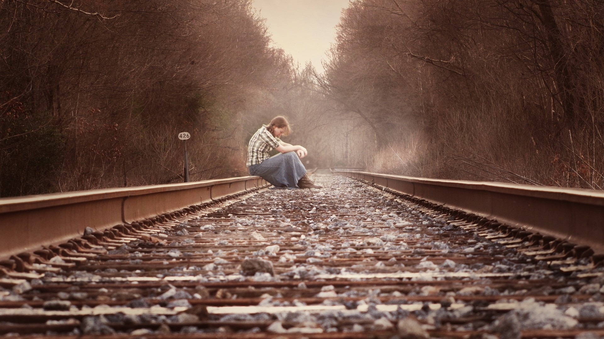 Alone Sad Wallpaper theme