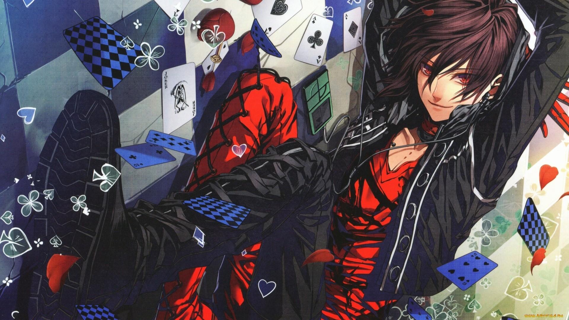 Anime Boy Background Wallpaper