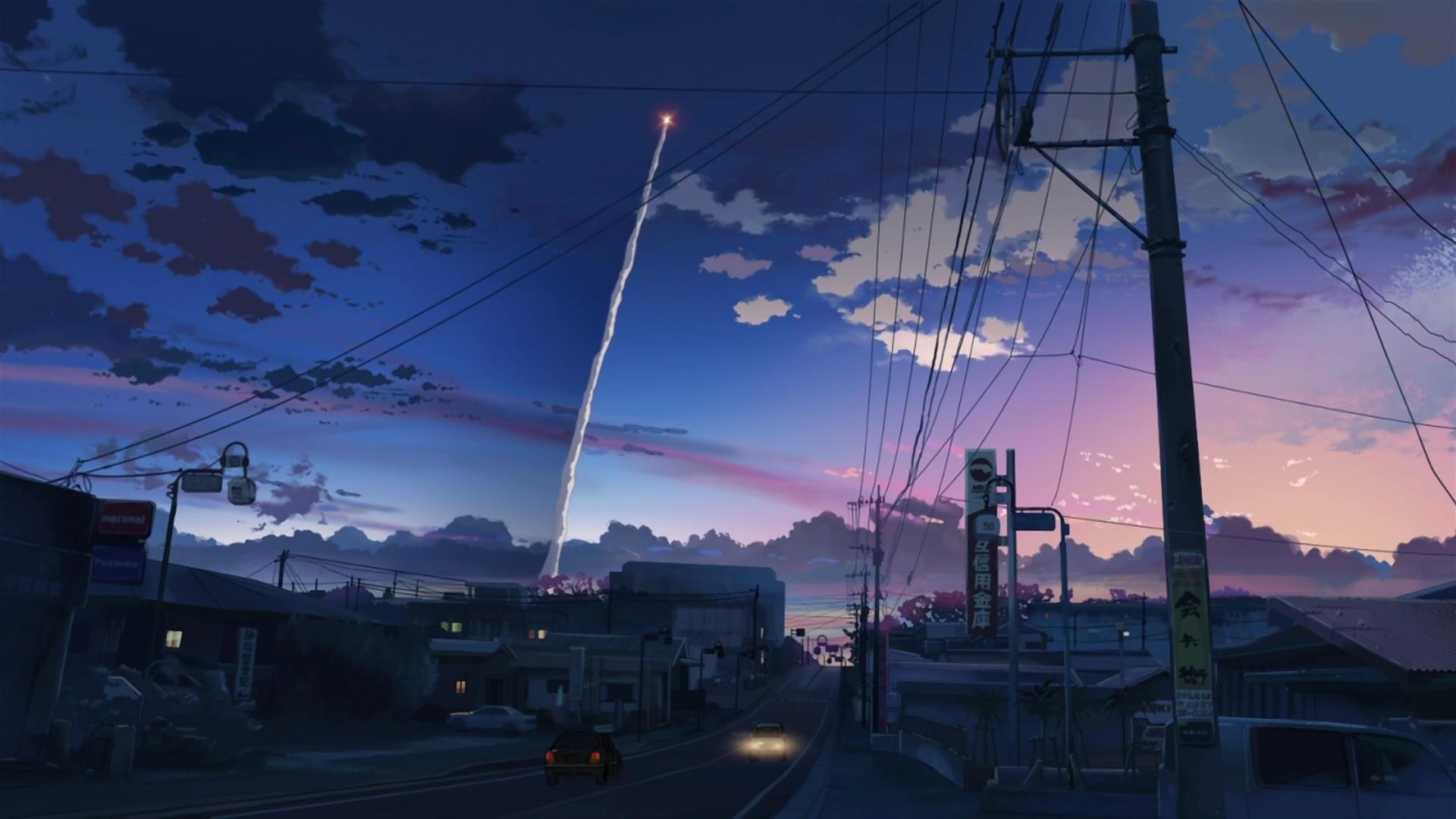 Anime Scenery Wallpaper theme