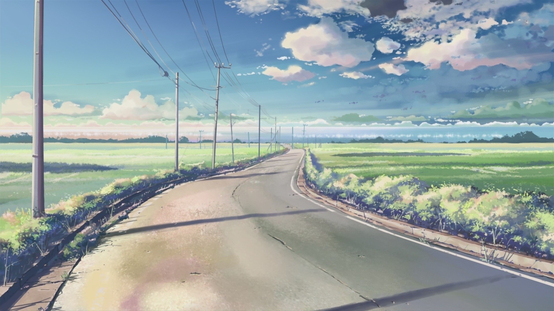 Anime Scenery PC Wallpaper HD