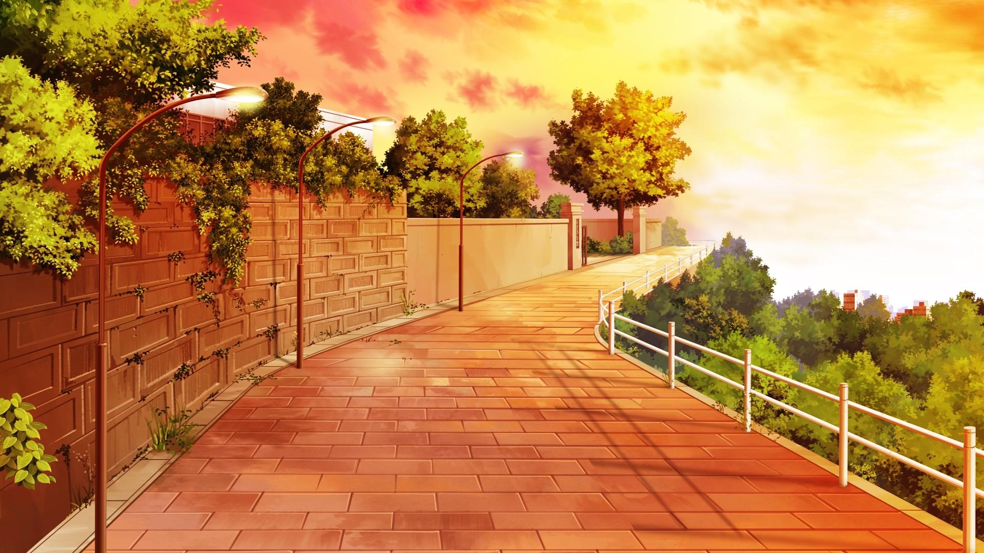 Anime Scenery Background