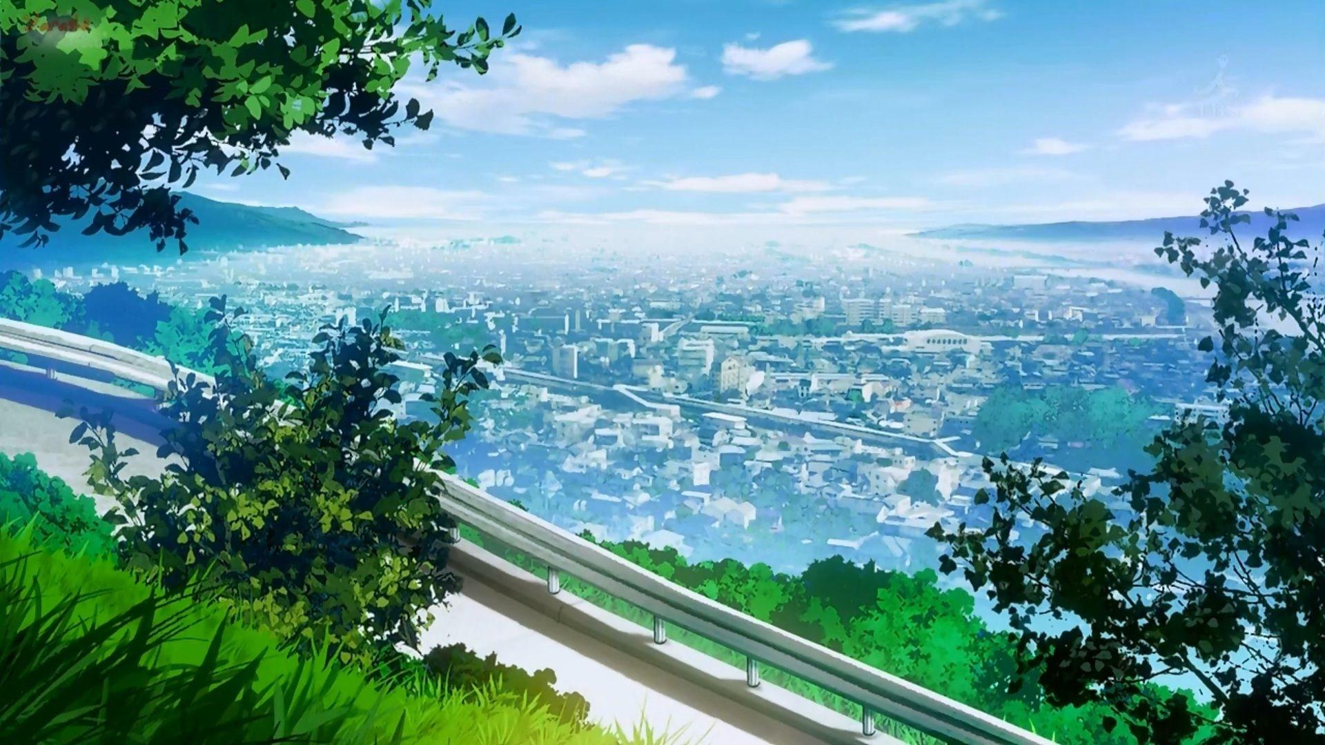 Anime Scenery wallpaper photo hd