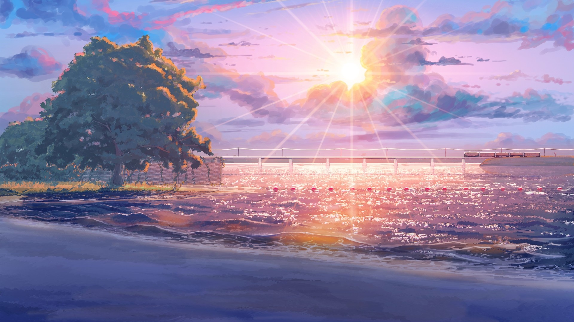 Anime Scenery HD Download