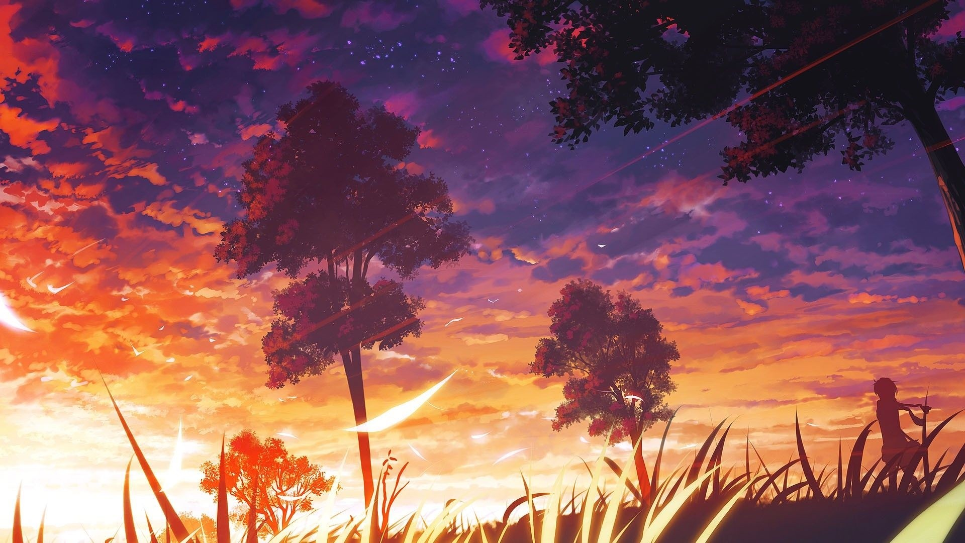 Anime Scenery Wallpaper Picture hd