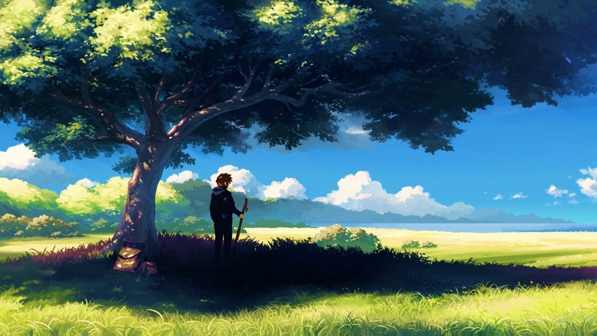 Anime Scenery High Quality