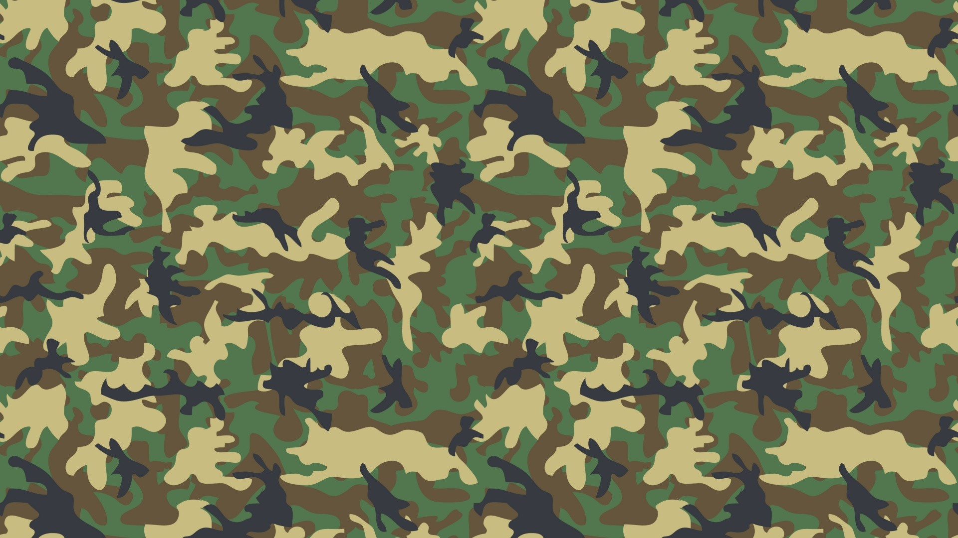 Camouflage computer wallpaper